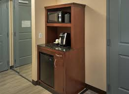 a kitchen or kitchenette at hilton garden inn albany medical center