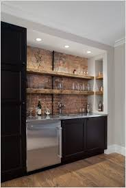 ceiling leds that are great for a single wall home bar