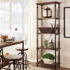 home office storage. Myra Vintage Industrial Modern Rustic Bookcase By INSPIRE Q Classic Home Office Storage