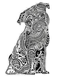 Small Picture Get the coloring page Pug Free Coloring Pages For Adults