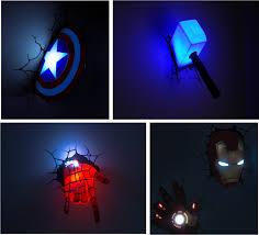 Marvel Superhero Bedroom Marvel Superhero Wall Lights Soul Speak Designs