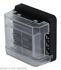 circuit fuse box 6 way 12 volt or 24 volt 100 amp modular design mta modular fuse boxes image is loading circuit fuse box 6 way 12 volt or