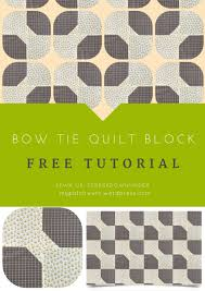 Quick and easy bow tie quilt block video tutorial | Sewn Up & Quick and easy bow tie quilt block video tutorial Adamdwight.com