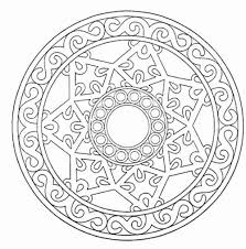 Free Printable Mandala Coloring Pages For Adults 50 With Color