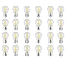 Feit Ceiling Fan Light Bulbs Feit Electric 60w Equivalent Daylight 5000k A15 Dimmable Filament Clear Glass Led Ceiling Fan Light Bulb 24 Pack