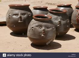 Pottery Caacupe Paraguay South America Stock Photo 15123618 Alamy
