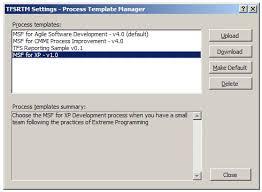 process frameworks vsts better