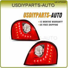 Vw Gti Brake Light Replacement Ad Ebay Pair Taillights For 06 09 Volkswagen Mk5 Golf Gti