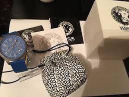 versus watch versus versace men s soho sgl01 0012 chronograph watch blue