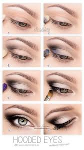 hooded eyes makeup this works so well for hooded eyes you wouldn t believe it until u try it s not that drastic mostly black eyeshadow eyeliner and