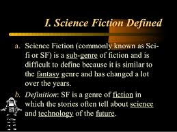Sci Ppt Science Fiction Ppt 2013