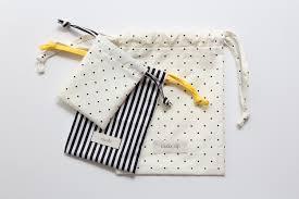 lined drawstring bag tutorial you