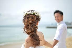 海外挙式にぴったり式で輝く花嫁のヘアスタイル3選