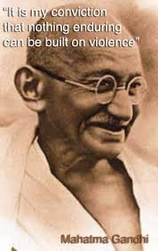 Gandhi Quotes On Peace Magnificent Gandhi Quotes The Following Are Some Of His Quoted Words Read
