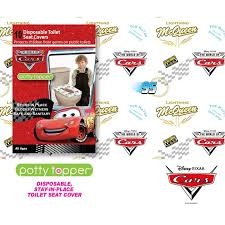 Potty Topper Disposable Toilet Seat Cover Disney Cars Potty