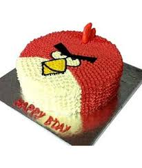 Buy send and order online angry bird cake to Delhi NCR cake shop