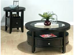 round end table with drawer tables winning drawers for living room designs small dressing wi