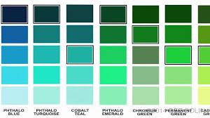 Sun Rain Paint Color Chart