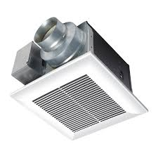Lowes Bathroom Fan And Light Bathroom Panasonic 110 Cfm Bathroom Fans Lowes In White For