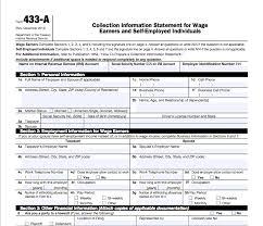 irs gov form 433d how to navigate form 433 canopy