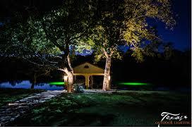 Landscape Lighting Moonlight Effect Lake Home Outdoor Lighting Texas Outdoor Lighting
