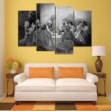 multi panel print last supper canvas