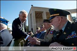 defense gov special report th anniversary of d day photo essay hagel participates in 70th anniversary d day observance in normandy