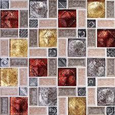 porcelain glass tile wall art sample the wall backspalash houzz crystal mosaic traditional transitional hangings ceramic
