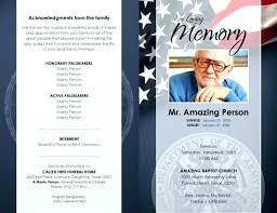 Word Template Flyer Free Funeral Program Template Free Download Blank Funeral Program
