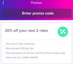 get 20 off your next two lyft rides up to 2 on each use promo code joy18 in the lyft app promos tab