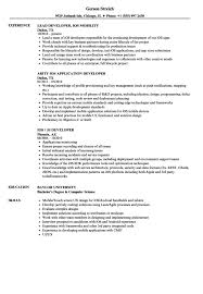 Application Developer Resume Samples VisualCV Resume Samples Stunning Ios Developer Resume
