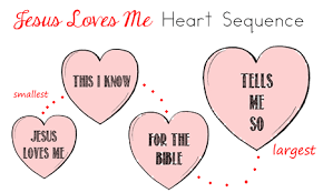 Small Picture Valentines Day Bible Printables