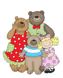 Image result for goldilocks and the three bears clipart