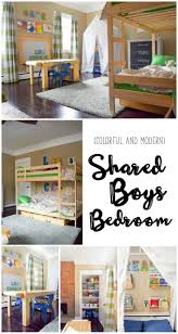 One Room Challenge {Week 6}: A Shared Boys Bedroom Reveal PLUS an Exciting  Announcement! -