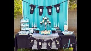 Creative Baby boy shower decorations