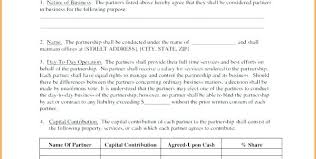 Business Partnership Separation Agreement Template Lovely Luxury ...