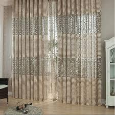 Blattmuster Tüll Tür Fenster Trennwand Voile Tuch Vorhang