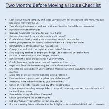 House Moving Checklist Uk Download Printable File Cbd Movers