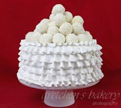 New Recipe For Coconut Cake Filled With Coconut Buttercream And A