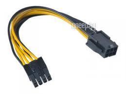 <b>Аксессуар Кабель Akasa</b> PCIe to ATX 12V 15cm AK-CB051