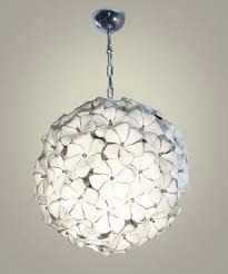 pendant lamp original design murano glass white feather chandelier