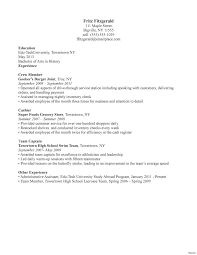 Resume For A Waiter Sample Server Resume Free Resume Example And