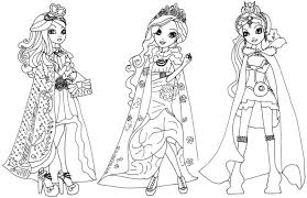 Small Picture Ever After High Coloring Page Photographic Gallery Ever After High