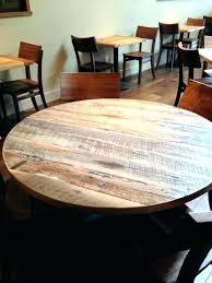 wooden round table tops round wooden table tops reclaimed wood restaurant table tops round reclaimed wood