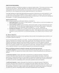 General Resume Objective Fascinating General Resume Objectives General Resume Objective Examples