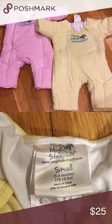Merlin S Magic Sleepsuit Sizing Chart Baby Merlins Magic Sleepsuit Set Gently Used Baby Merlins