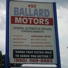 photo of ballard motors east hartford ct united states