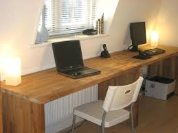 large glass office desk. Big Office Desk Oak From Kitchen Worktops Hack Desks And Double Large Glass