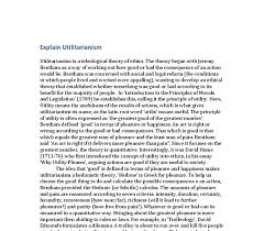 utilitarianism introduction edu essay