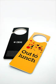 creative door hangers. Creative Door Hangers Always Helps Us To Convey Message The Unknown Visitors